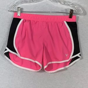 Old Navy Active Women Short Size XL Pink Lined.